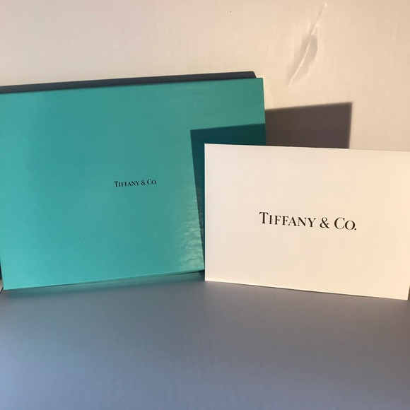 Tiffany & Co. Handbags - Long Flat Gift Box W/Envelope Unused